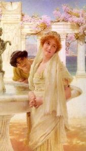 A Difference Of Opinion - Sir Lawrence Alma Tadema - Romantic Art
