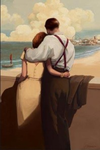 Romantic Art: Lovers Point